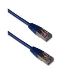Cordon  Patch CAT6 FTP 1m Bleu